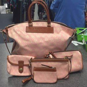 Dooney & Bourke Pink Set